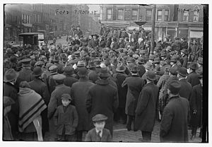 New York City Food Riot of 1917 - Food Riots of 1917