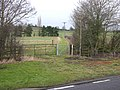 Footpath by Lower Fosse Farm - geograph.org.uk - 1700104.jpg