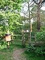 Footpath through former railway goods yard - geograph.org.uk - 1290463.jpg