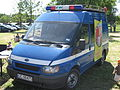 Ford Transit 85 of the Military Police of Poland during the VII Aircraft Picnic in Kraków.jpg