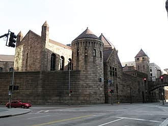 Allegheny County Jail - Image: Former Allegheny County Jail