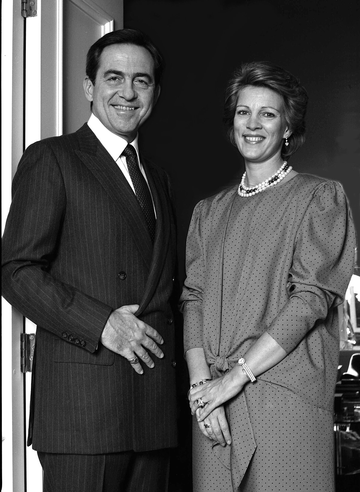 Former King Constantine & Queen Anne -Marie.jpg