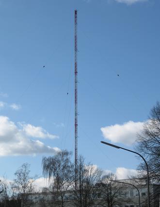 Measurement tower - The measurement tower of Forschungszentrum Karlsruhe