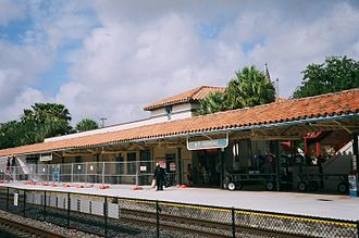 Fort Lauderdale station - Refurbishment works in 2013