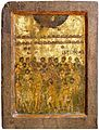Forty Martyrs of Sebaste, II Half of XI Century, St Mary Perivleptos Church, Ohrid Icon Gallery.jpg