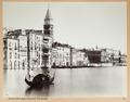 Fotografi av Venedig - Hallwylska museet - 103013.tif