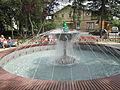 Fountain in Ciechocinek.JPG