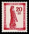 Fr. Zone Baden 1949 40A Posaunenengel Freiburg.jpg