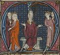 Français 2825, fol. 227v, Répudiation d'Agnès de Courtenay.jpeg