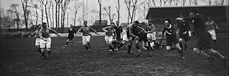 Wales national rugby union team - Wales playing France during the 1922 Five Nations Championship