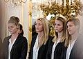 Frauen-Fußballnationalmannschaft Österreich EM 2017 Empfang Bundespräsident 17.jpg