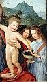 Frei carlos, madonna col bambino e un angelo, 1520-30 ca. 02.jpg