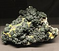 Freiberg, Terra mineralia, Malachit, Pyromorphit.JPG