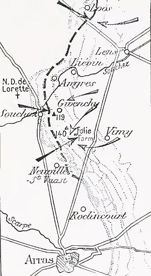 Third Battle of Artois - Image: French attack in Artois, September 1915
