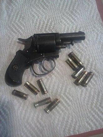 British Bull Dog revolver - Image: French proofed Bulldog revolver