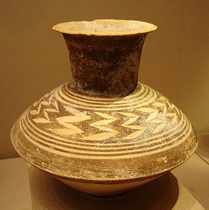 History of Qatar - Pottery jar from Late Ubaid Period.