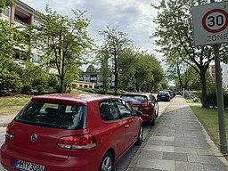 Fritz-Lindemann-Weg in Hamburg