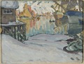 From Svolvaer Harbour. Study from Lofoten (Anna Boberg) - Nationalmuseum - 20482.tif