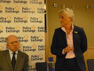 Pauline Neville-Jones, Baroness Neville-Jones - Baroness Neville-Jones (right) at Conservative Party conference, 2011