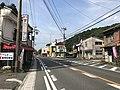 Fukuoka Prefectural Road No.473 near Tento Station 2.jpg