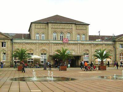 Göttingen Bahnhof Reiseführer Auf Wikivoyage