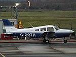 G-GOTH Piper Cherokee Warrior III 28 (Private Owner) (39742443303).jpg