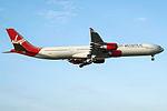 G-VWEB A340-600 Virgin Atlantic (14806182181).jpg