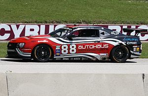 Bill Lester - 2011 Rolex Sports Car Series GT car