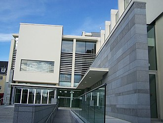 Galway City Museum - Image: Galway City Museum Entrance
