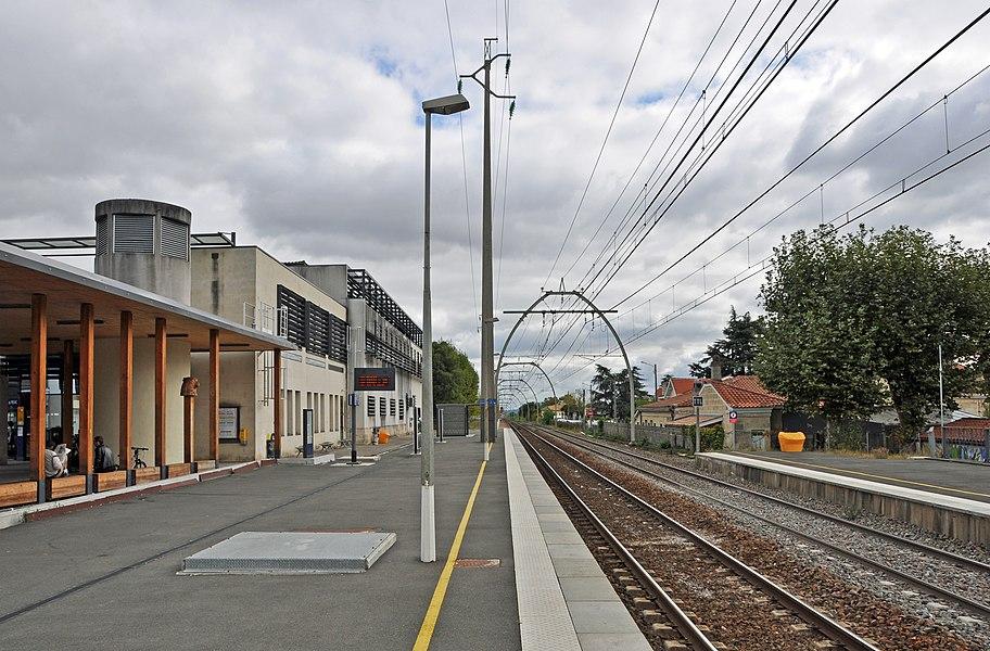 Pessac (Département de la Gironde, France): train station