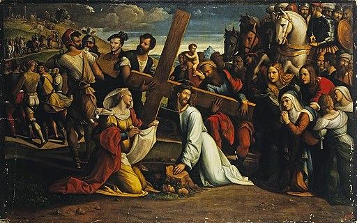 Garofalo Carrying of the cross