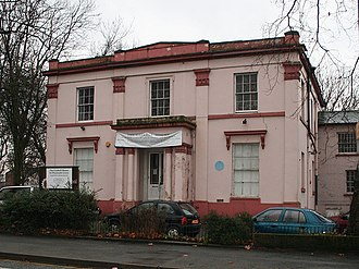 William Gaskell - 84 Plymouth Grove, Gaskell's home from 1850