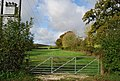 Gate off Chapel Hill - geograph.org.uk - 1577478.jpg
