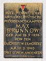 Gedenktafel Alfred-Jung-Str 5 (Liber) Max Brunnow.jpg