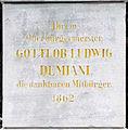 Gedenktafel Demianiplatz (Görlitz) Gottlob Ludwig Demiani.jpg