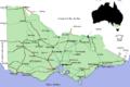 Geelong, Carte du Victoria.png