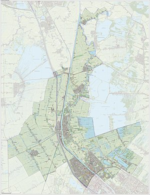 Stichtse Vecht - Dutch Topographic map of Stichtse Vecht, June 2015