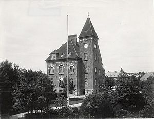 Gentofte Town Hall - The old Gentofte Town Hall in 1915
