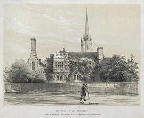 Geoffrey's Study, Monmouth