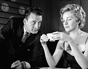 George C. Scott - With Geraldine Page (1959) in a publicity still for People Kill People Sometimes
