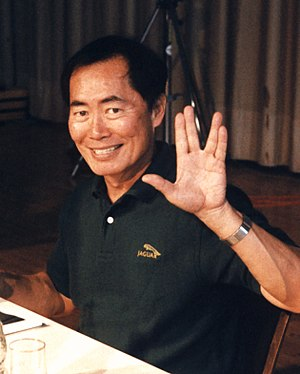 American actor George Takei at the Star Trek C...