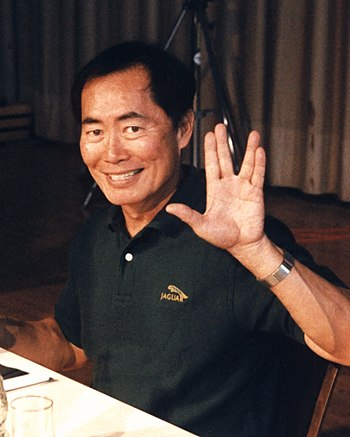 English: American actor George Takei at the St... cyber legacy