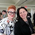Georgette Mosbacher and Lauren Young in 2013.jpg