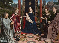 Gerard David: The Virgin and Child with Saints and Donor