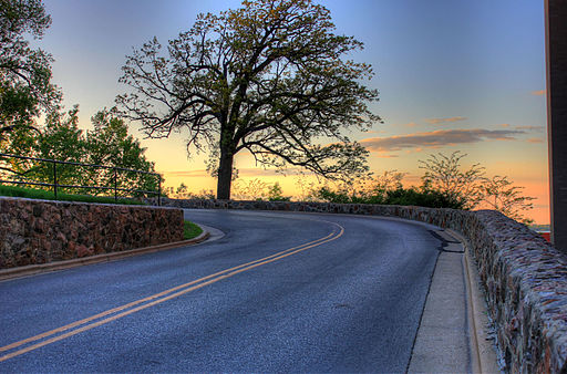 Gfp-wisconsin-madison-sunset-on-the-curving-road