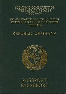 Visa Requirements For Ghanaian Citizens Wikipedia