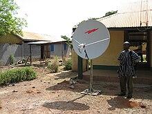 Satellite Internet access  Wikipedia
