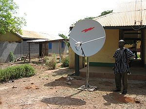 Internet access - Satellite Internet access via VSAT in Ghana