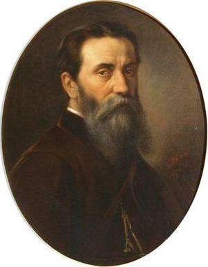Gheorghe Tattarescu - Self-portrait
