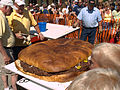 Gigantic hamburger at Giant Burger Festival, 2008.jpg